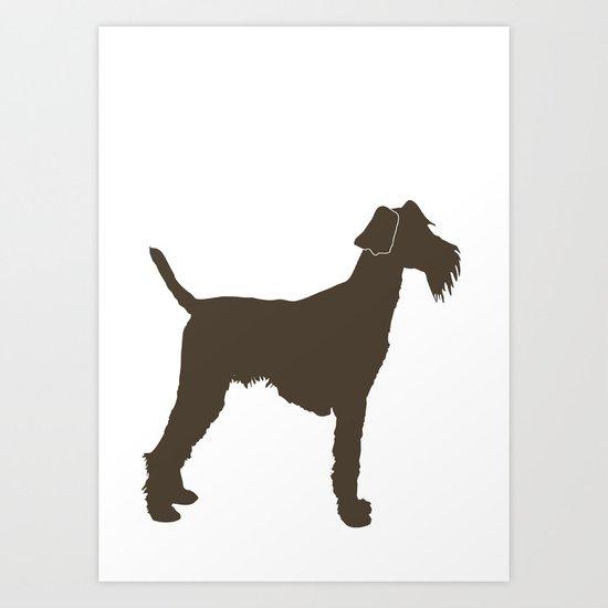 Welsh Terrier Dog Art Print