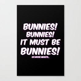 Bunnies Canvas Print