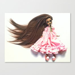 Exorcist custom doll Canvas Print