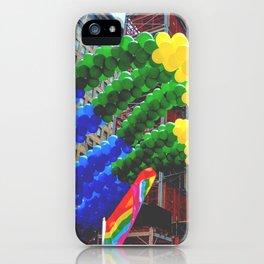 Proud Scene (LGBT Pride Parade) iPhone Case
