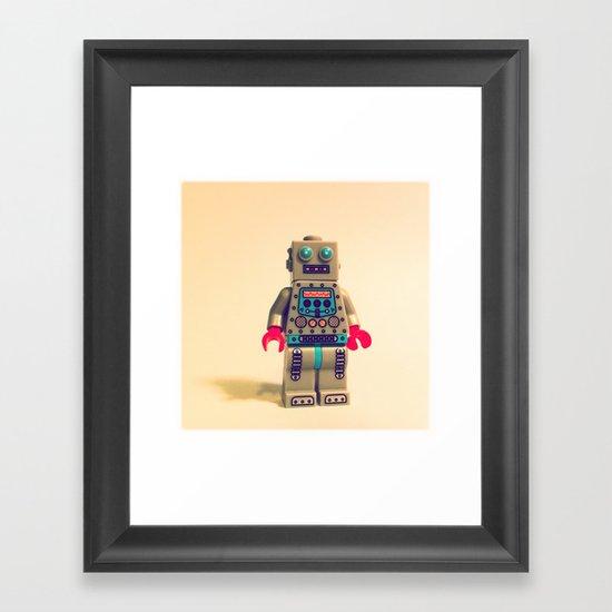 Robot 2000 Framed Art Print