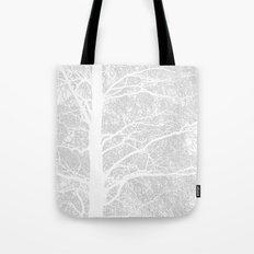 Wintry Tree  Tote Bag