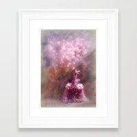 fairy tale Framed Art Prints featuring fairy tale by Bunny Noir