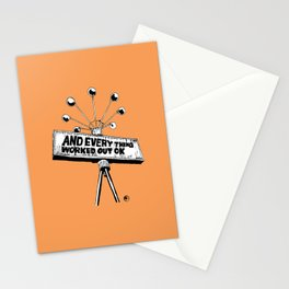 And Everything Worked Out Ok (sign) Stationery Cards