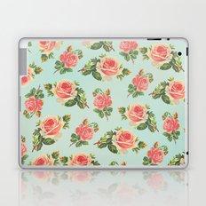LONGING FOR SPRING- FLORAL PATTERN Laptop & iPad Skin