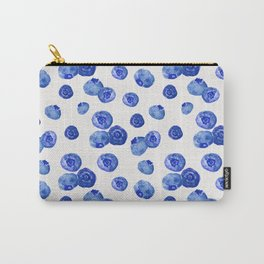 Indigo Blueberries Carry-All Pouch