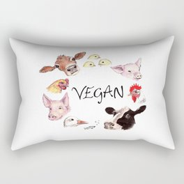Vegan Rectangular Pillow
