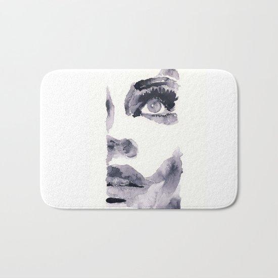 Epiphany - ink wash Bath Mat