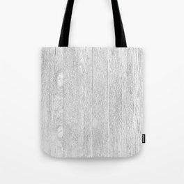 Whitewashed wood Tote Bag