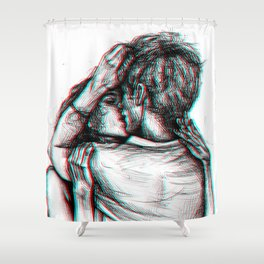 I need you Shower Curtain