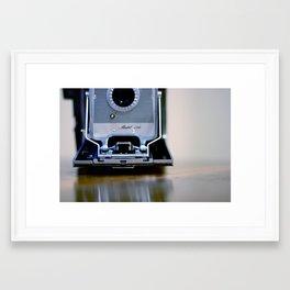 Polaroid Land Framed Art Print