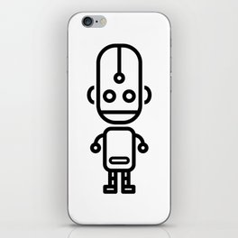 Cartoon Boy Droid iPhone Skin