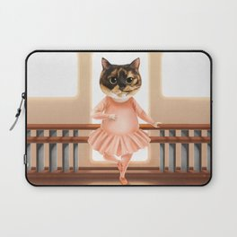 Ballerina Cat Laptop Sleeve