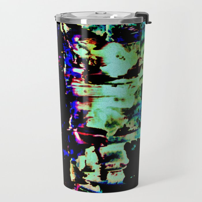 Light ripples Travel Mug