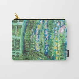 Recomposed: The Water Lily Pond Carry-All Pouch