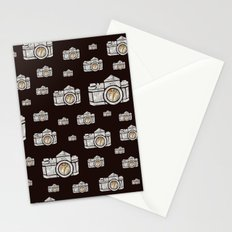 White Camera Stationery Cards