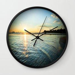 Coastal Waters Wall Clock