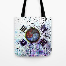 in to the sky, circuit board (south korea) Tote Bag