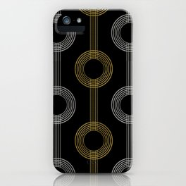 GUITAR IN ABSTRACT GS  (art deco) iPhone Case