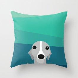 Whippet Throw Pillow