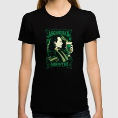 Asgardian Absinthe LARGE Black Womens Fitted Tee