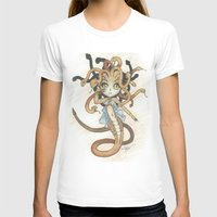 magic the gathering T-shirts featuring Snake Token - Magic the Gathering - Pharika by Deadlance