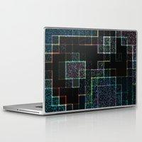 tetris Laptop & iPad Skins featuring Tetris by Audrey Erickson