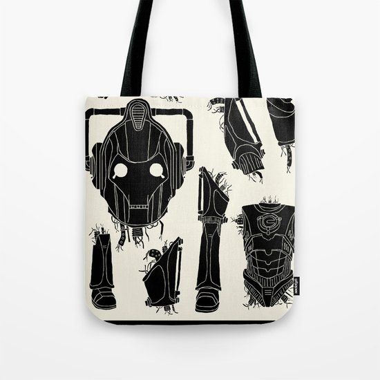 Decommissioned: Cyberman Tote Bag