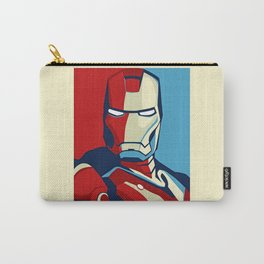 Obamized Ironman - Vote For Ironman Carry-All Pouch