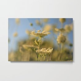 Flowers from Below Metal Print