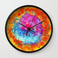 Plasmic Earth Number Two Wall Clock