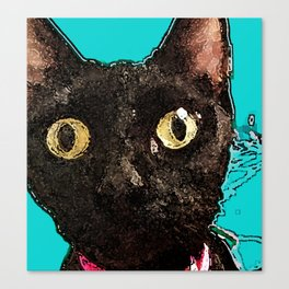 Kismet Kitty Canvas Print