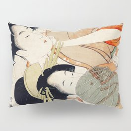 The Two Girls Pillow Sham