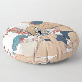 Garden #2 Floor Pillow