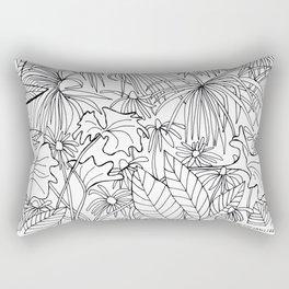 Happy Plants Rectangular Pillow