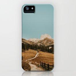 Mont Thabor/// Gran Séru iPhone Case