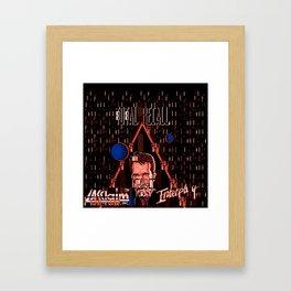 Total ReGlitch Framed Art Print