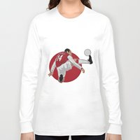 arsenal Long Sleeve T-shirts featuring Thierry Henry by siddick49