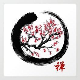 Japanese ENSO ZEN Buddhist SHIRT Art Print
