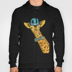 I'm too SASSY for my hat! Vintage Painted Giraffe. Hoody