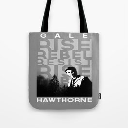 "Gale ""Rise Rebel Resist"" Hawthorne Tote Bag"