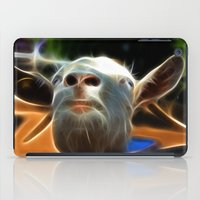 goat iPad Cases featuring Goat by Veronika