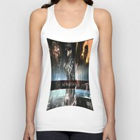 metal gear solid Tank Tops featuring metal gear solid V  , metal gear solid V  games, metal gear solid V  blanket, by Eirarose
