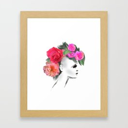 Belle Mohican Framed Art Print