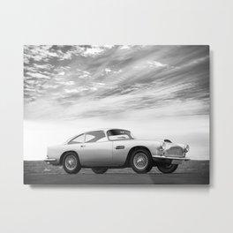 The Aston DB4 1959 Metal Print