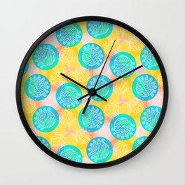 Awesome Balls Wall Clock