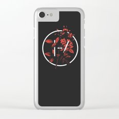 TØP logo Clear iPhone Case