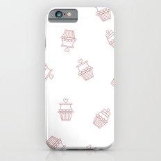 Cupcakes Pattern iPhone 6s Slim Case