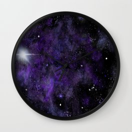 Jam Nebula Wall Clock