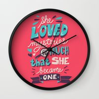 paper towns Wall Clocks featuring Paper Towns: Mysteries by Risa Rodil
